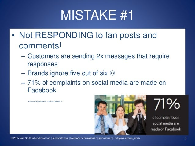 Supercharge Your Facebook Marketing! 10 Facebook Mistakes Businesses Are Making... And How To Fix Them #fbmistakes Slide 3