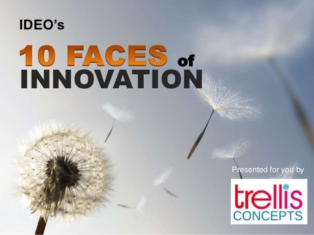 of INNOVATION IDEO's Presented for you by