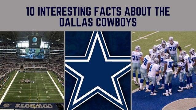 IO INTERESTINC FACTS ABOUT THE OALLAS COWBOYS