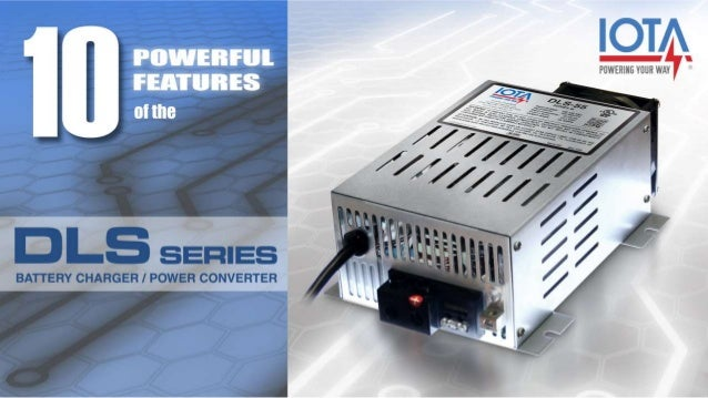 1 Clean DC Output The IOTA DLS Series provides exceptionally clean DC output to connected equipment. For power conversion ...