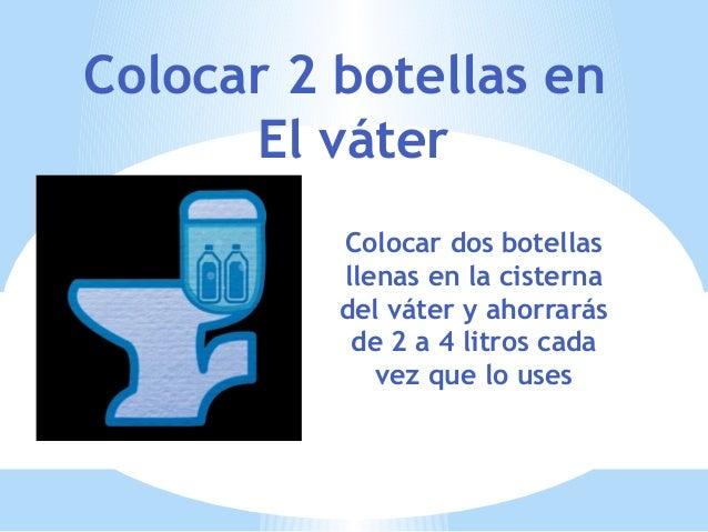 10 formas de ahorrar agua noelia for Cisterna vater