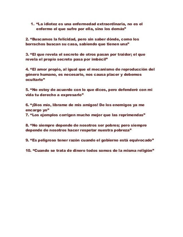 10 Frases Celebres De Voltaire