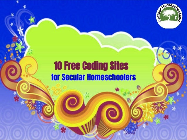 10 Free Coding Sites for Secular Homeschoolers