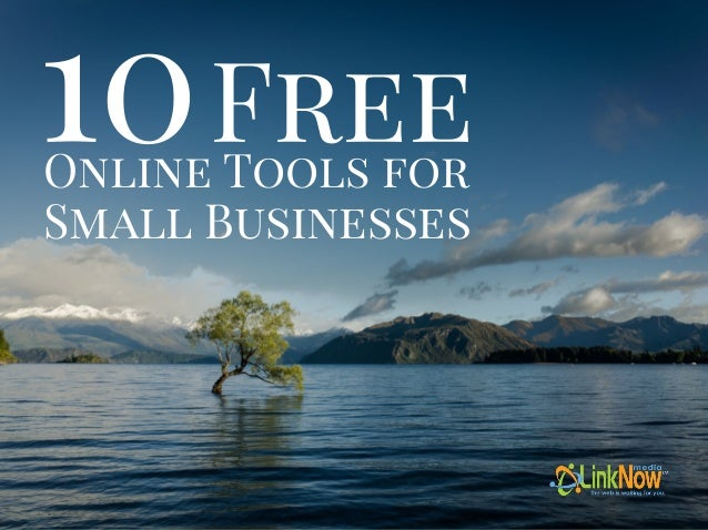 Online Tools for Small Businesses 10Free
