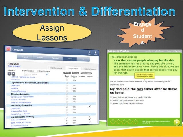 Assign Lessons Engage d Student s; 16. Formative Assessments ...