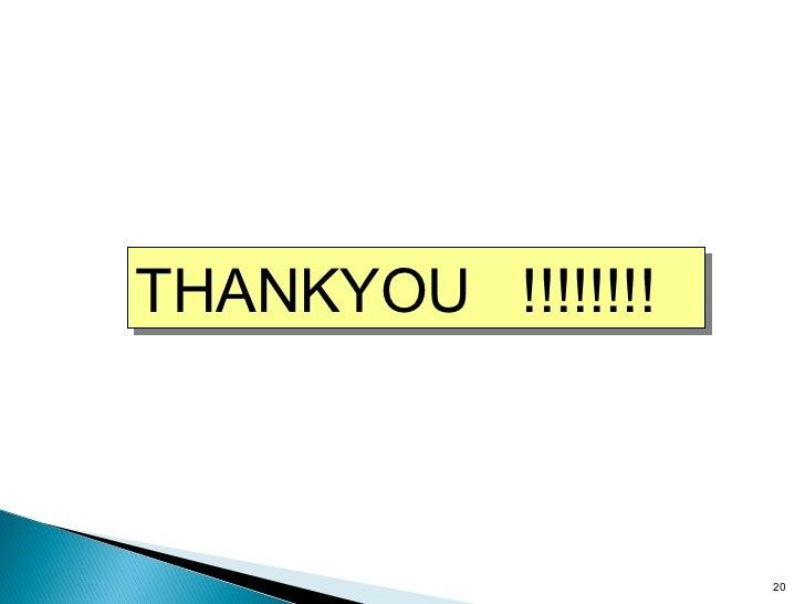 THANKYOU  !!!!!!!!