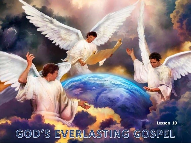10 gods everlasting gospel rev 14