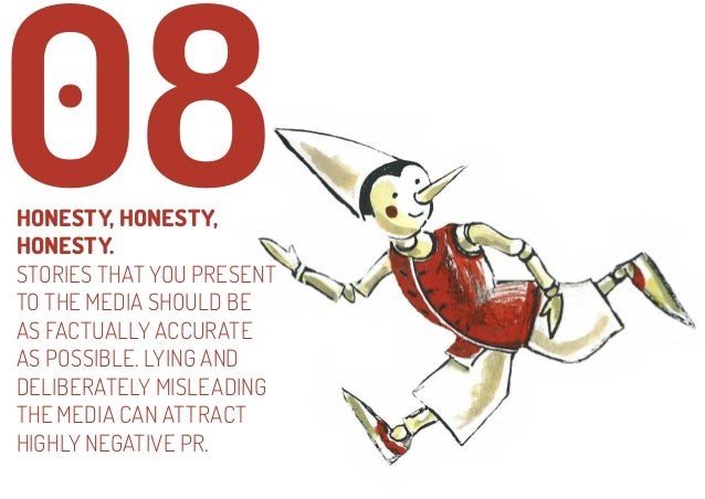 09  NEVER NEGATIVELY COMMENT ON ANY PUBLICATION, TV SHOW, PERSON, COMPANY OR COMPETITOR. IT'S A SMALL WORLD. THOUGHTLESS C...