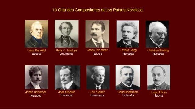 10 grandes compositores de los pa ses n rdicos - Nombres clasicos espanoles ...