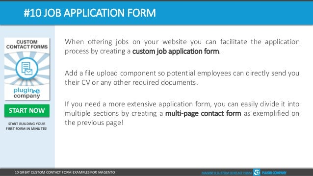 10 great custom contact form examples for magento plugin company