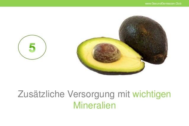 10 gr nde warum die avocado gesund ist gesund geniessen club. Black Bedroom Furniture Sets. Home Design Ideas