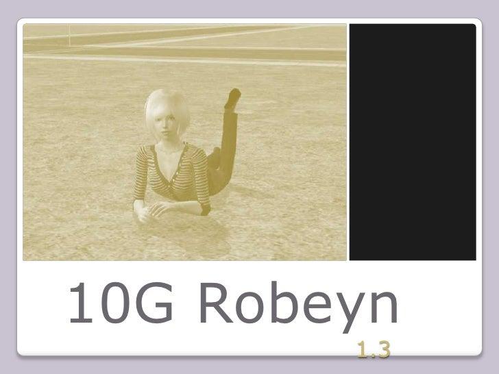 10G Robeyn<br />1.3<br />