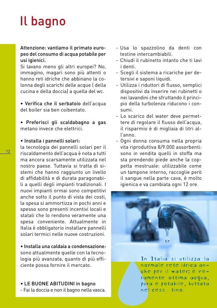 Guida ecoidea 10 come risparmiare ambiente ed euro in casa for Come risparmiare e risparmiare per una casa