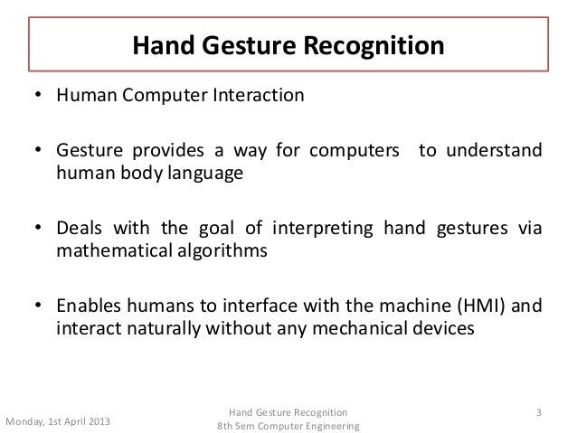 Gesture Recognition: A Survey