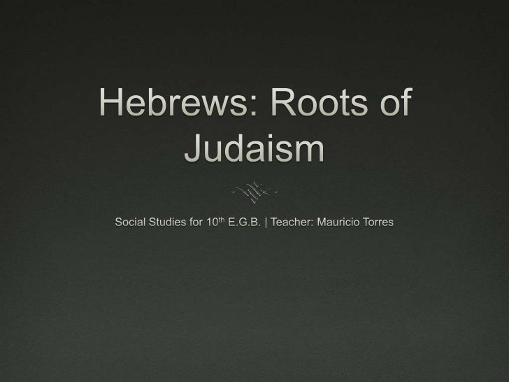 Early History The Israelites or Hebrews  recorded events and laws in  the Torah, their most sacred  text. They were a gr...