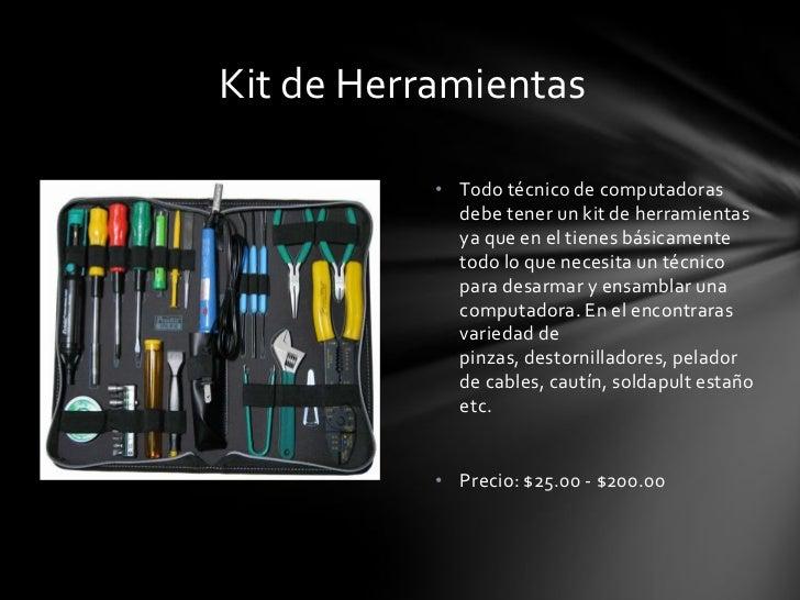 10 herramientas importantes de un tecnico de computadoras for Herramientas que se utilizan en un vivero