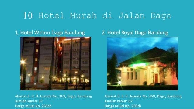 Bandung O Lokasi Mudah Di Kunjungi 3 10 Hotel Murah
