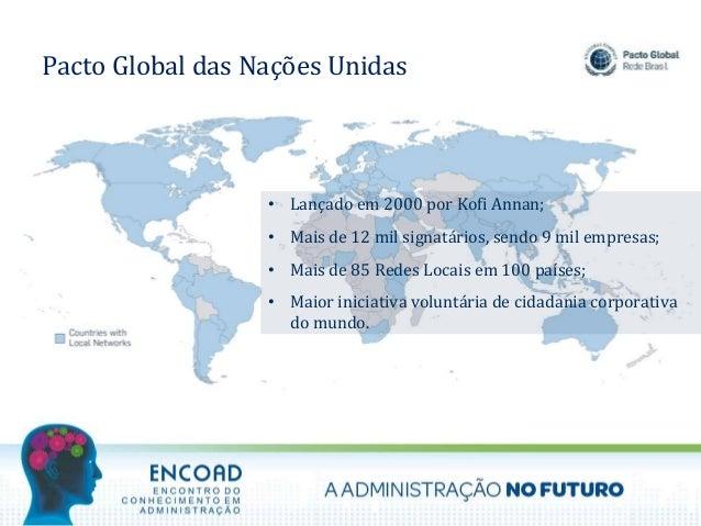 ENCOAD 2017 - O Desenvolvimento Sustentável e o Administrador do Futuro Slide 3