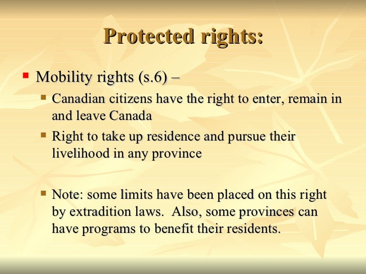 AOS 2 #10 Human Rights Protection in Canada