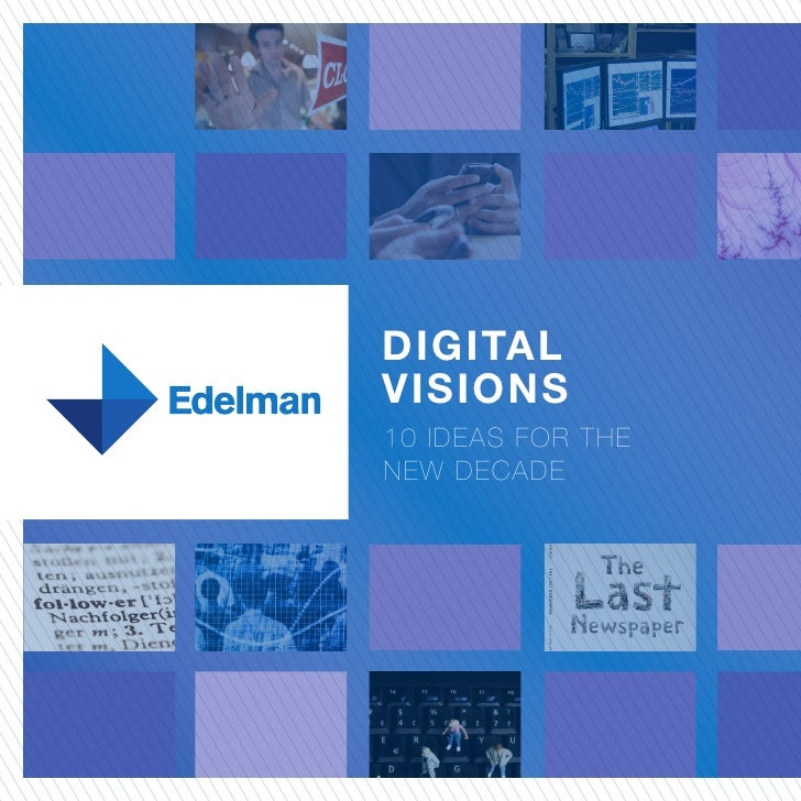 DIGITAL VISIONS 10 IDEAS FOR THE NEW DECADE