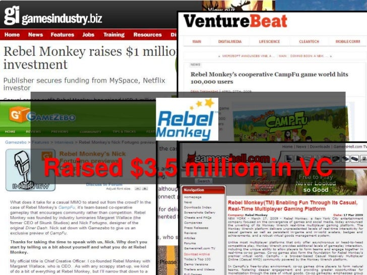 $<br />Raised $3.5 million in VC<br />Copyright 2010. Margaret Wallace. Please Attribute Proper Credit if You Use These Sl...