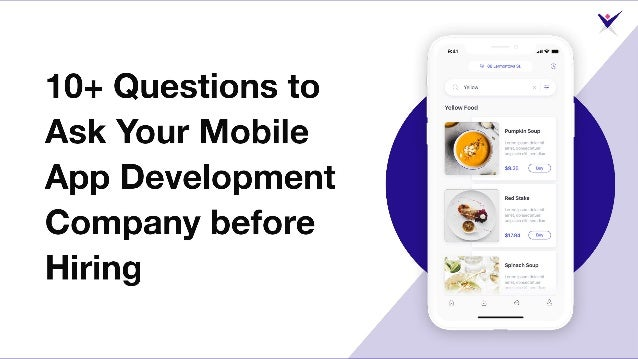 10+ Important Questions to Ask Mobile App Development Company before Hiring