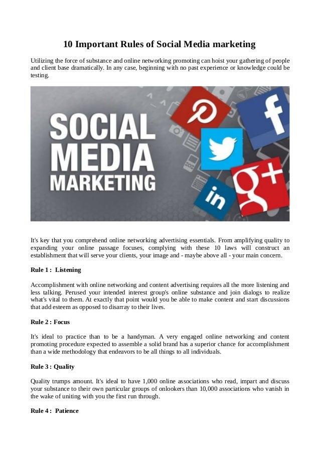 10 Important Advantages of Social Media