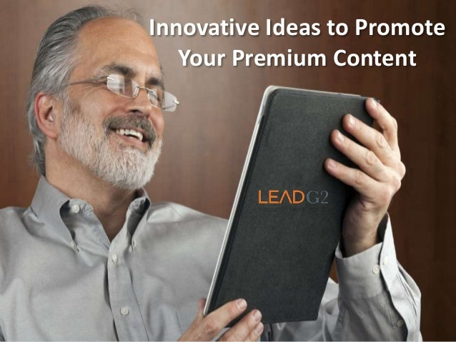 Innovative Ideas to Promote Your Premium Content