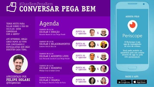 """"""" # $ E.life Social CRM 10 Inovações de Social CRM para 2016 39 Periscope"""