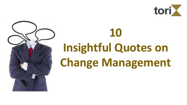 10 prinicples to change management