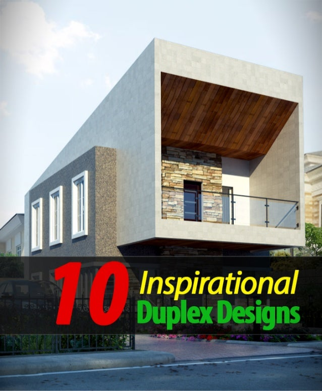 10 inspirational duplex designs