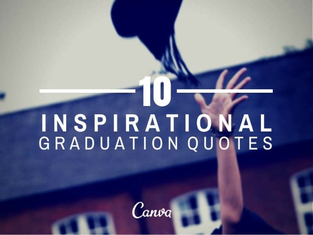 10 Inspirational Quotes for Graduation
