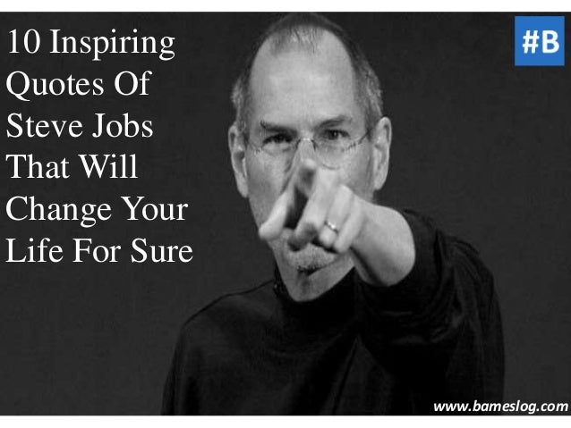 Quotes Steve Jobs Powerpoint Presentation Quotes
