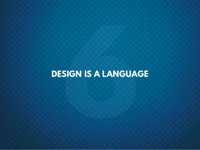 #6 Design is a language