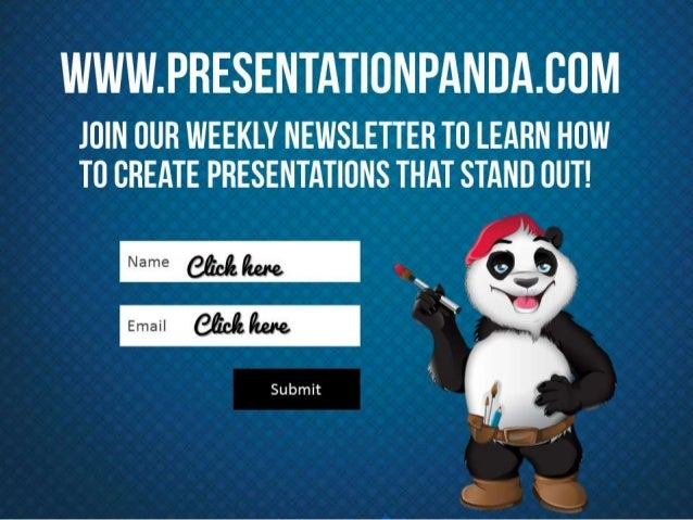 Join our weekly newsletter to learn how to create presentations that stand out!