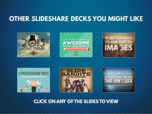 Other SlideShare decks you might like