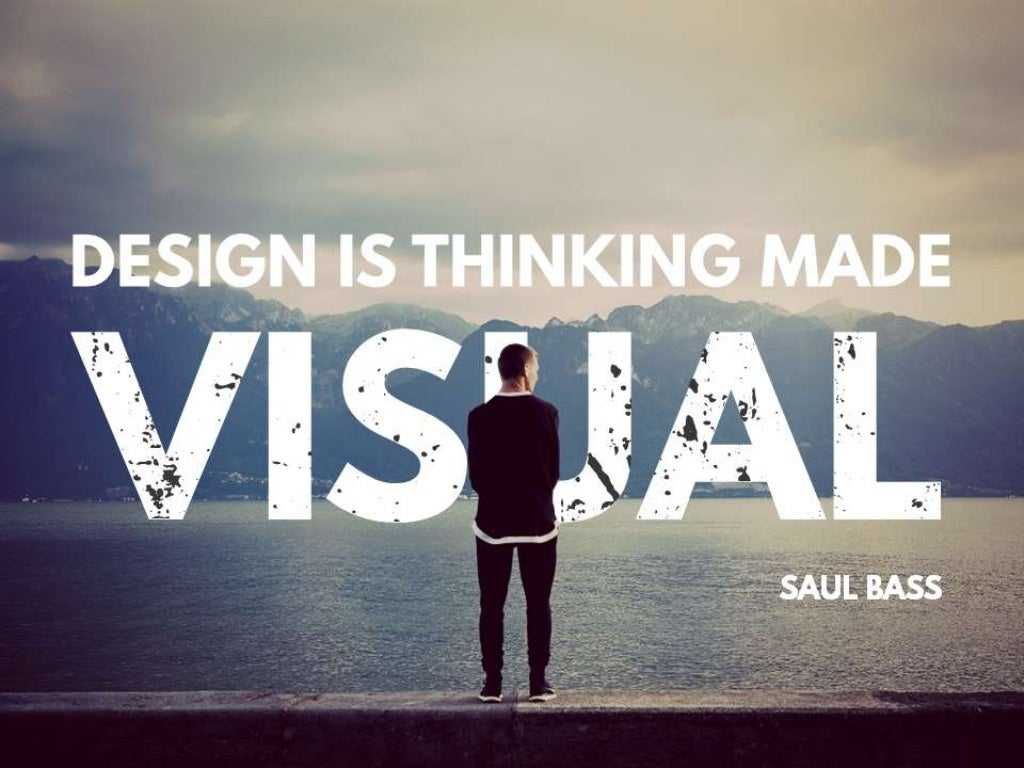 Quote Design Is Thinking Made