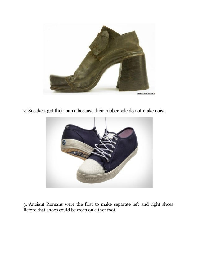 03ede7e39853 10 Interesting Facts About Shoes