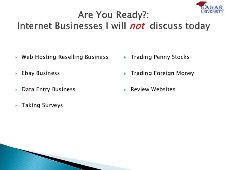 10 internet business ideas you can start right now 04 15 11 v7 final