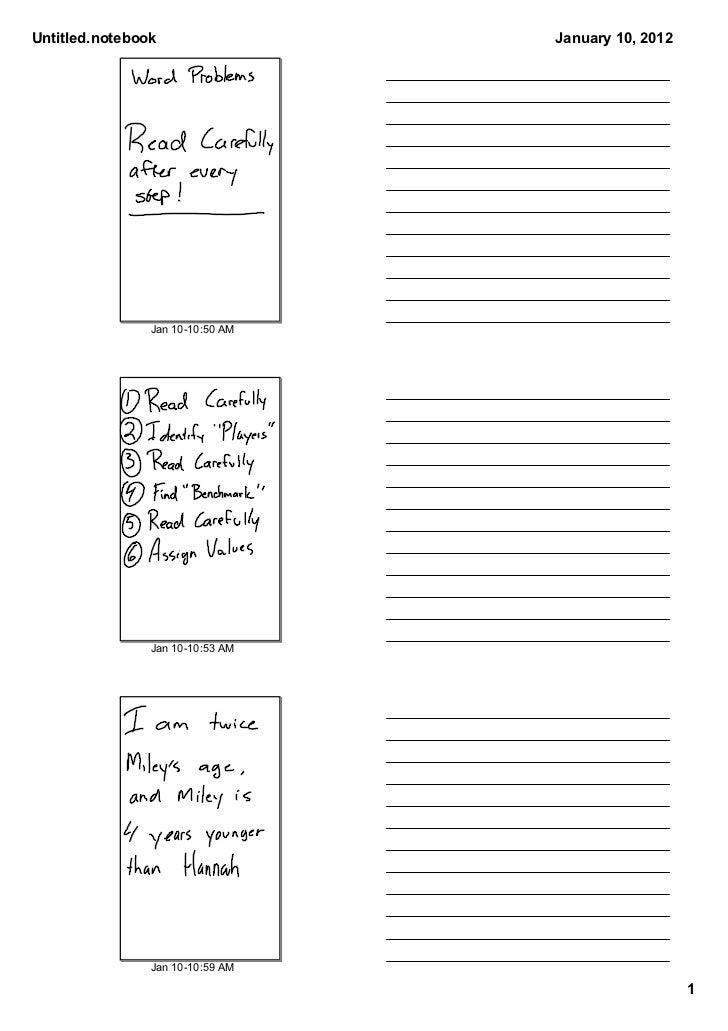 Untitled.notebook                 January10,2012                Jan1010:50AM                Jan1010:53AM          ...