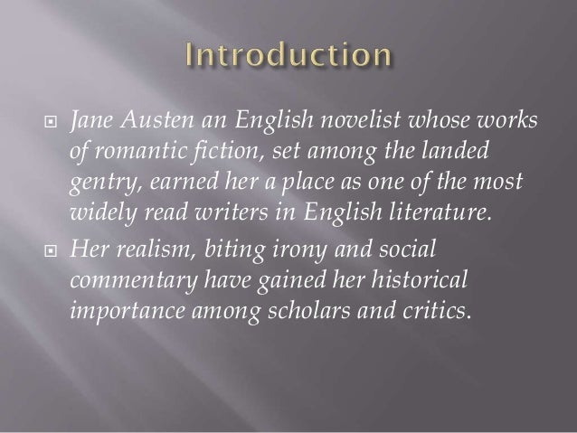 jane austen the english novelist Information, summary, facts and articles about jane austen, famous english author of pride and prejudice and other books.
