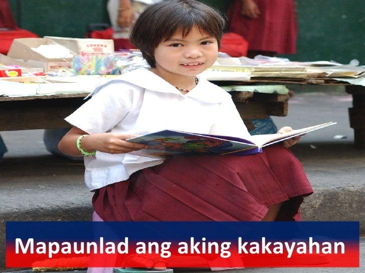 tungkulin ng isang batang pilipino Karapatan ng batang alagaan ng kaniyang mga magulang kaya dapat  ay  karapatan ng isang mamamayang pilipino, t kung tungkulin, at kt.