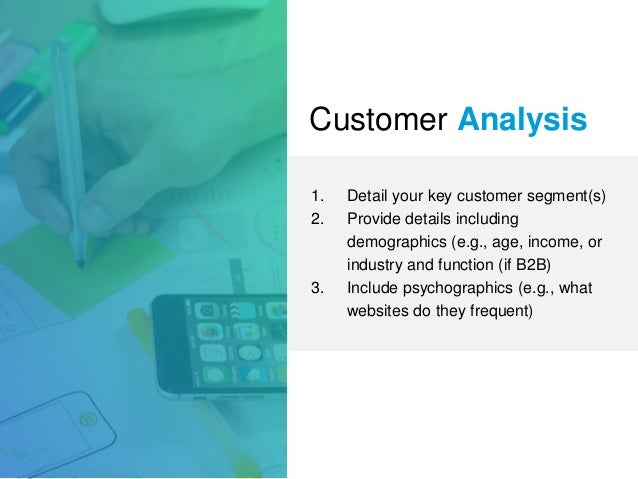 Analyzing Customers in Your Business Plan