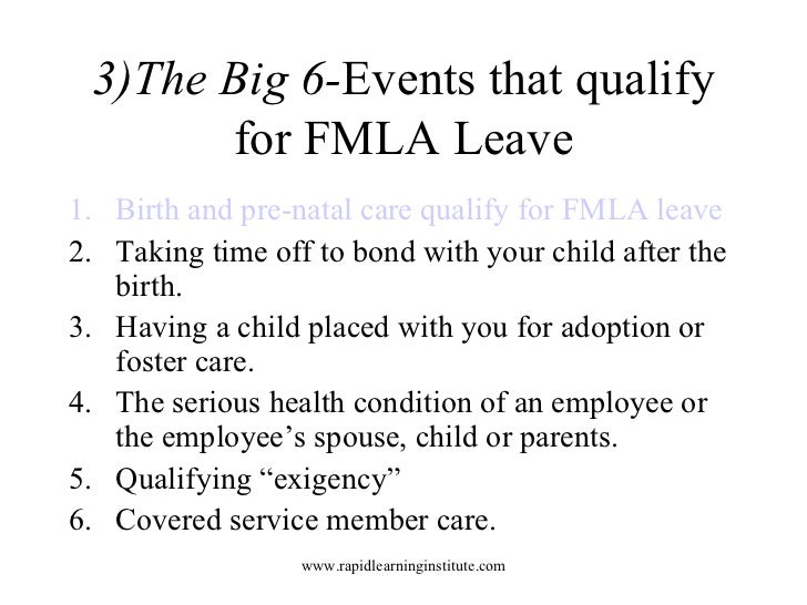 10 Key Facts About Fmla Regulations