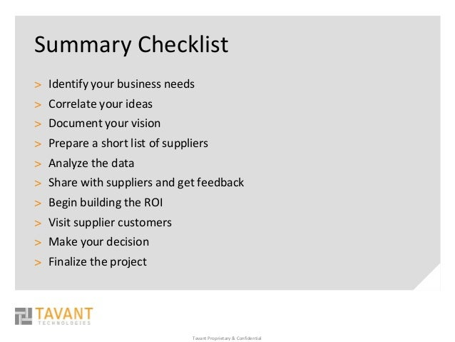 10 Key Points Of A Value Driven Solution By Tavant