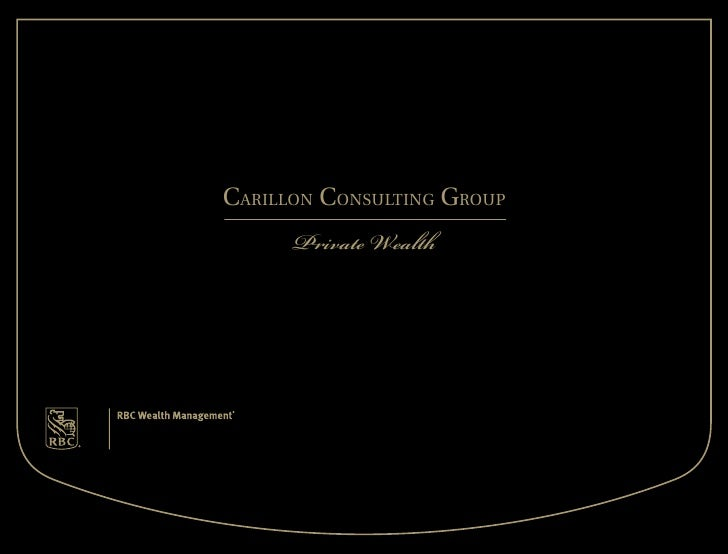 Carillon Consulting group       Private Wealth