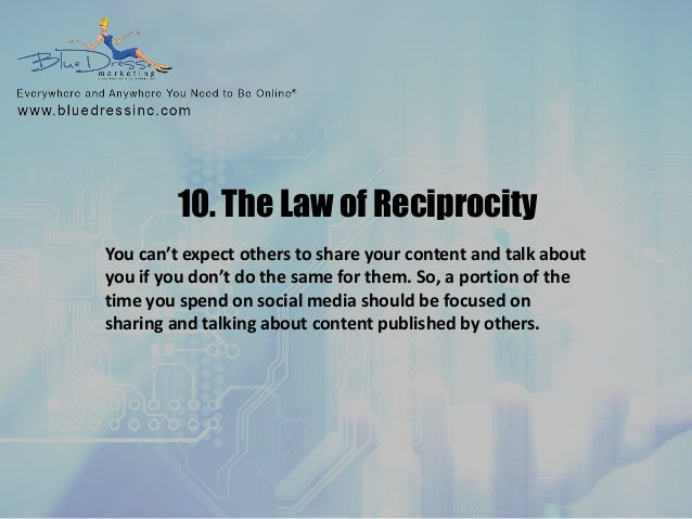 the law of reciprocity pdf