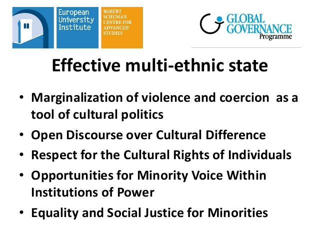 The machiavellian approach to policies brutality on minorities
