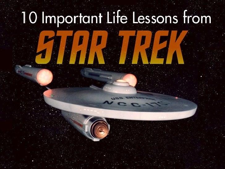 10 Life Lessons from Star Trek