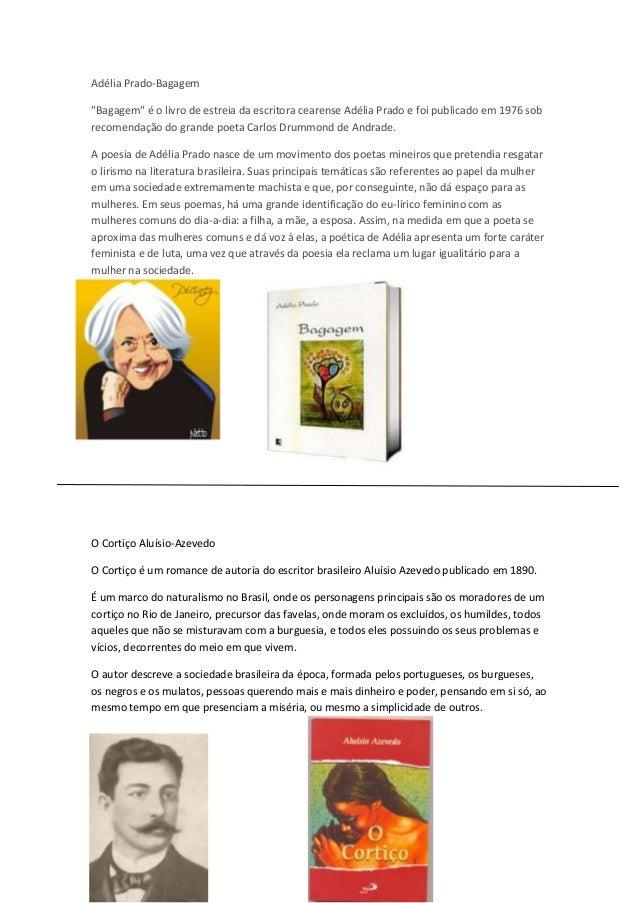 """Adélia Prado-Bagagem """"Bagagem"""" é o livro de estreia da escritora cearense Adélia Prado e foi publicado em 1976 sob recomen..."""